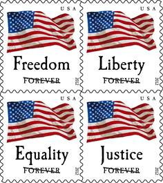 INDIANAPOLIS IN The US Postal Service Continues Its Tradition Of Honoring Stars And Stripes With Issuance Four Flags 45 Cent First Class