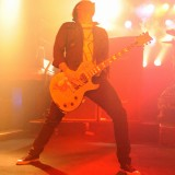 Jerry Horton of Papa Roach plays during their set at Piere's.