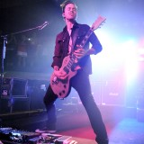 Jerry Horton of Papa Roach rocks the Piere's crowd during the band's set Thursday night.