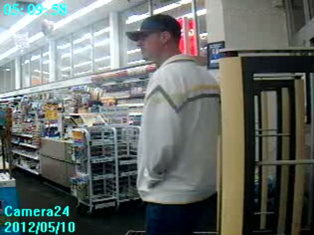 Winona Lake Police are still looking for information that will help them identify this suspect, wanted for questioning in a May 10 theft of credit cards.