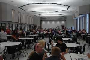 New Wawasee High School Cafeteria