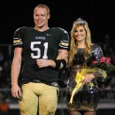 Wawasee football player Chad Eppley and cheerleader Jenna Coy were named the 2012 Wawasee Homecoming King and Queen.