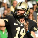 Purdue quarterback Caleb TerBush threw for 294 yards and four touchdowns against Marshall Saturday afternoon.