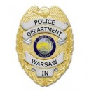 Warsaw PD badge