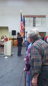 Veterans Day, Honor Guard, Colors, Veterans Day Concert, Lakeview Middle School