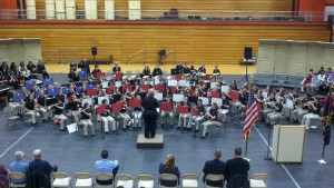 Lakeview Middle School, Edgewood Middle School, Veterans Day Concert