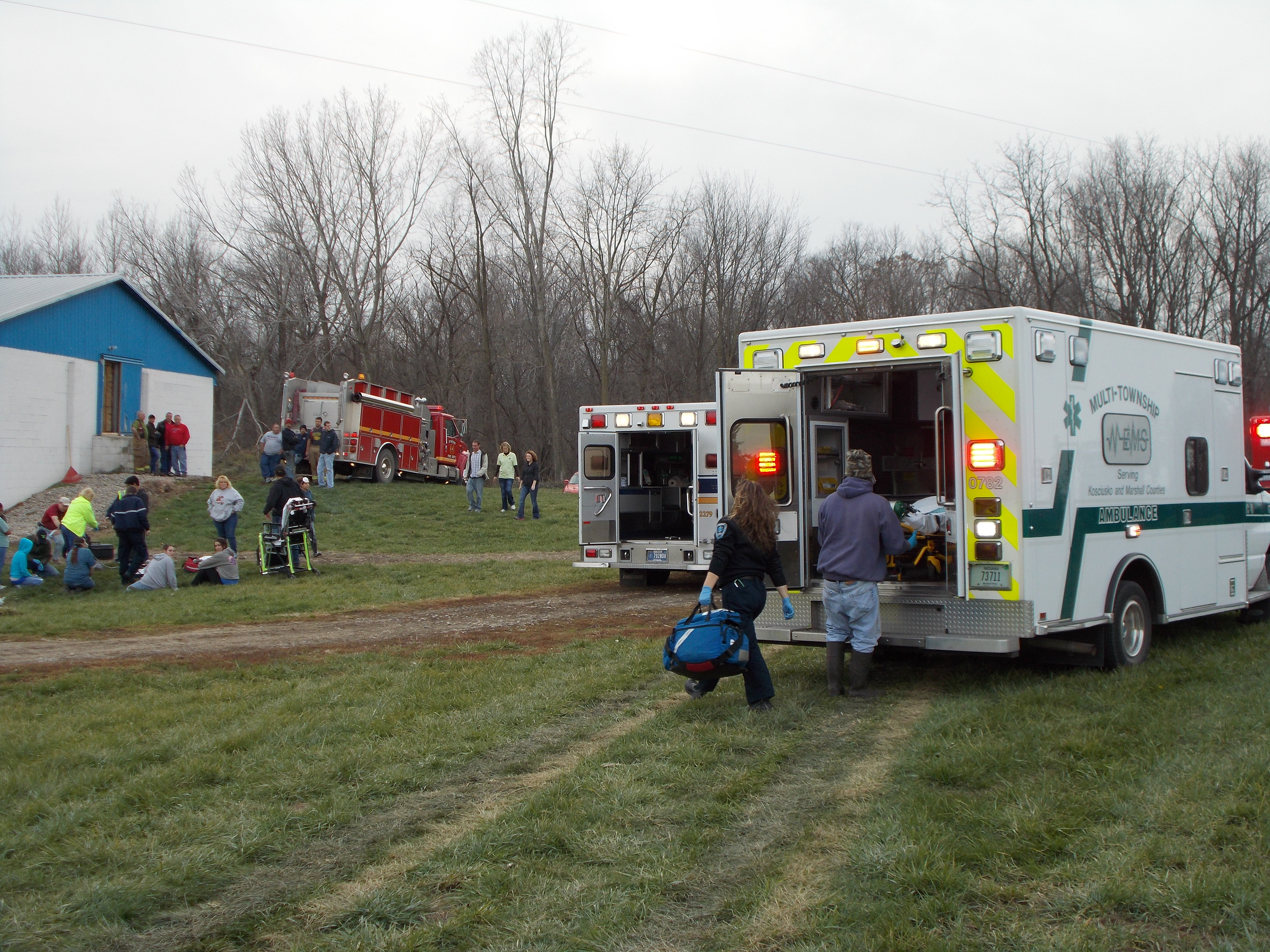 Multi-Township EMS, Fire, Breaking News