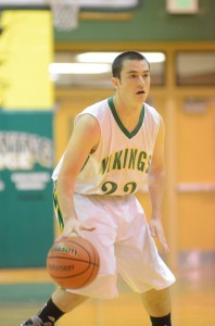 Valley's Jacob Ritchey had nine points Friday night in the Vikings' victory.