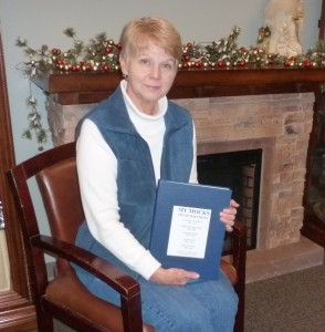 Dixie Barringer recently completed a 438-page book of the Mock Family History and has donated it to the Library's Local History and Genealogy Center. The book is the culmination of a lifetime of research.