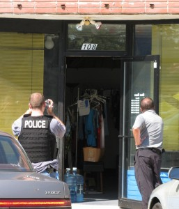 Agents of the IRS Criminal Investigation Division documented items inside California Dreamin as part of a federal raid in September. (File photo)