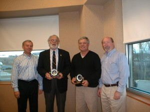 Pictured from left are Rick Paczkowski, James Nesbitt, Ron Donkers and Tim Meyer. (Photo provided)