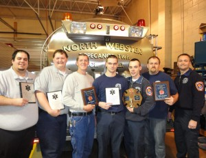 North Webster Fire and EMS held its annual appreciation dinner and presented awards to exemplary employees. (Photo provided)