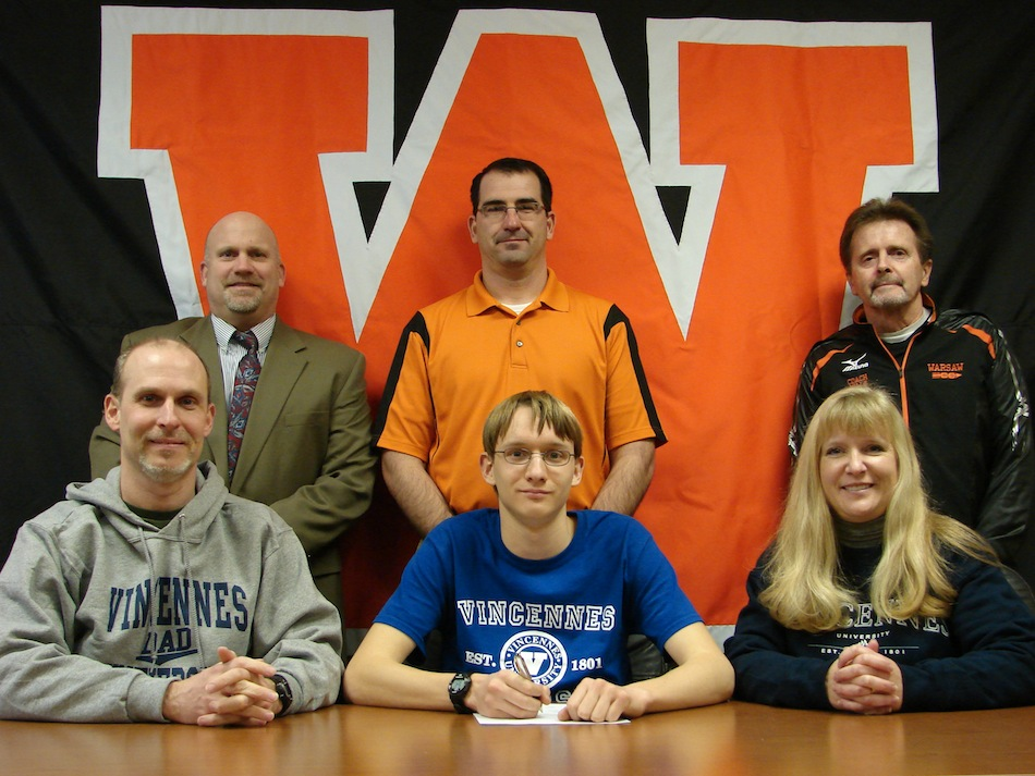 WCHS senior Robert Murphy will compete in cross country and track at Vincennes University. Murphy helped the Tigers to a fourth-place finish at the Cross Country State Finals in October, the highest finish in program history.