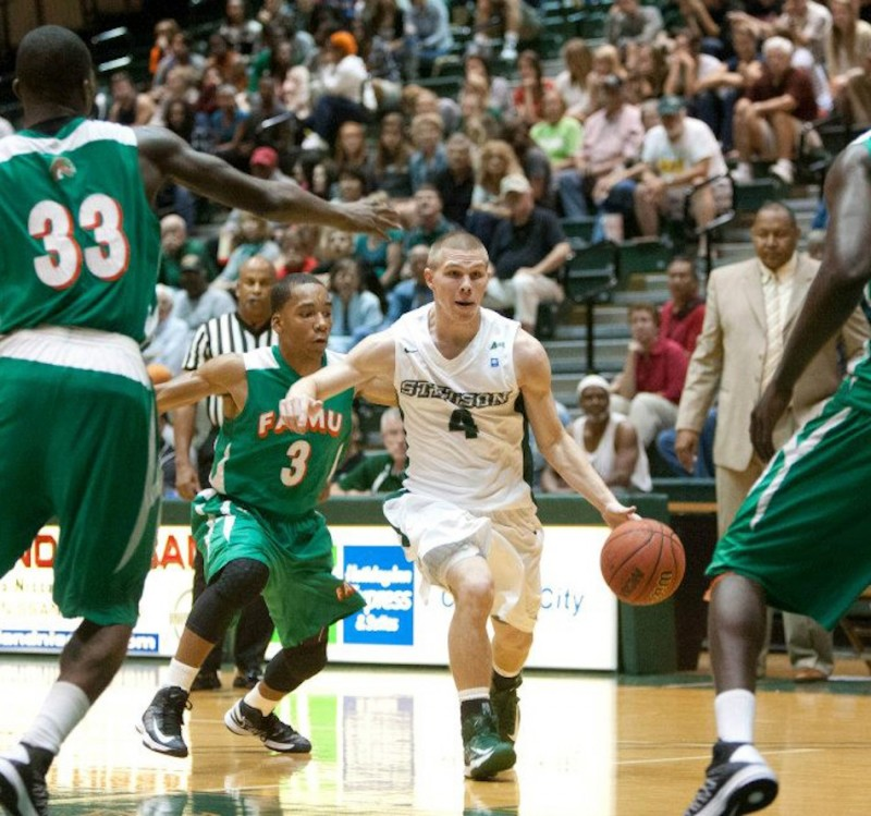 Former Whitko star Logan Irwin has decided to transfer to Grace College from Stetson. He will play for the Lancers starting next season (Photo provided by Grace College Sports Information Department)