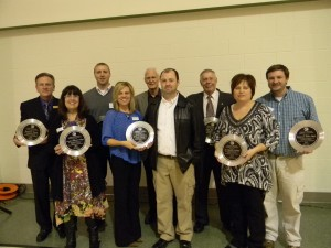 Several local individuals, service organizations and chamber businesses were recognized for their outstanding achievements at the Syracuse-Wawasee Chamber of Commerce's annual awards banquet.