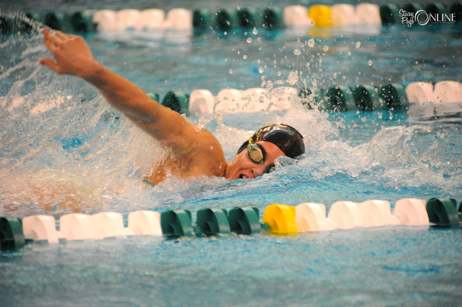 Wawasee sophomore Breanna Robinson should have a say in who wins the 100 and 200 freestyle championships at the Northridge Sectional this weekend. (Photos by Mike Deak)