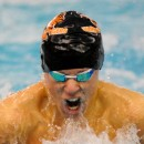 Warsaw's Spencer Davidson speeds home to win the breaststroke at the NLC Championships.