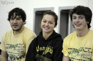 Wawasee's diving trio of Nate Hare, Tori Sylvester and Tristan Mauk had a big day at Goshen, with Sylvester and Mauk both posting wins and Hare nearly achieving a season-best.