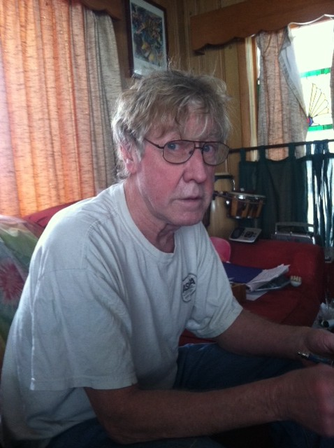 Family of Steve Hall, pictured, say it was he who perished in a Wednesday morning fire at Chapman Lake.
