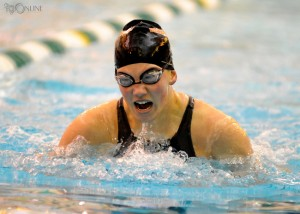 Warsaw's Ashley Van Wormer should be a contender in the breaststroke at the Warsaw Sectional.
