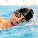 Wawasee's Caige Wahlgren competes in the 200 freestyle.