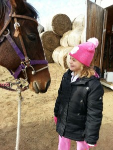 Lizzie Rice, 10, is a rider at The Magical Meadows and although she does not speak a lot, says Executive Director Tammy Stackhouse, she has whole silent conversations with her horse. Lizzie's parents are Dan and Tina Rice. (Photo provided)