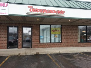 The Underground is closed today after police crack down on illegal drug activity. (Photo by Alyssa Richardson)