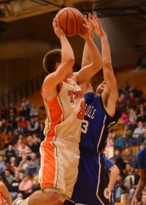 Senior Jared Bloom led Warsaw with 14 points in Friday night's 44-43 overtime loss to Fort Wayne Carroll.