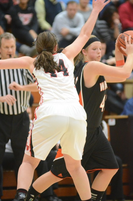 Nikki Grose, shown in a recent game at NorthWood, will be a key player for Warsaw when sectional play begins Tuesday night. The No. 9 Tigers face Elkhart Memorial at Concord.