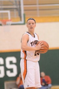 Warsaw senior star Lindsay Baker will look for a semi state championship at home on Saturday.