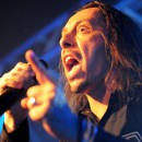 Lacuna Coil singer Andrea Ferro makes his point.