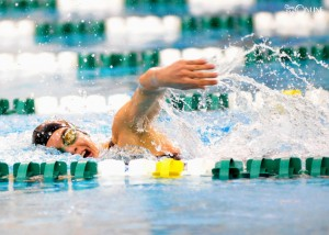 Wawasee's Bre Robinson owned the 100 and 200 freestyles, winning both titles going away.