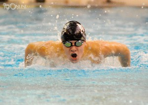 Wawasee's Logan Brugh is among the contenders in the butterfly as well as the 500 free at the Concord Boys Swimming Sectional this weekend.