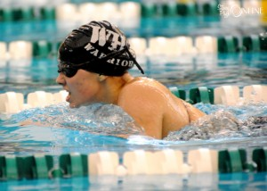 Wawasee's Caitlin Clevenger was the winner of the consolation round of the individual medley.