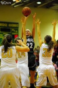 Wawasee star senior KiLee Knafel will lead the Warriors into sectional action Tuesday night versus host NorthWood.