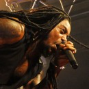 Lajon Witherspoon of Sevendust brings the heat.