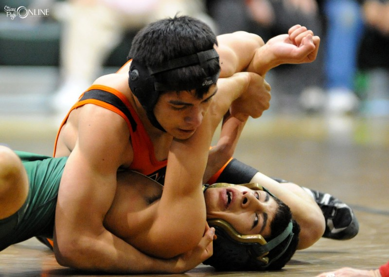 Warsaw senior Luis Munoz will compete in the Merrillville Semistate on Saturday (Photo by Mike Deak)