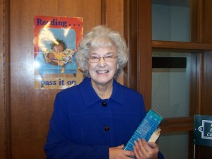 Anna Troup is the latest winner of the Milford Public Library's Adult Reading Program, Groundbreaking Reads. There is still time to win some prizes. The program ends March 30.