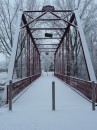 It is the Chinworth Bridge. Taken Feb 27th early in the morning after a fresh snowfall. Taken by Karen Long