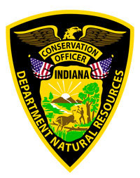 Indiana conservation officer badge   indiana patch collectors.