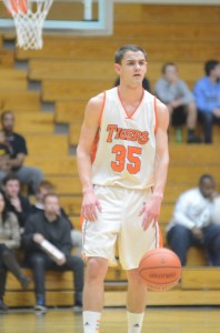 Warsaw's Jordan Stookey hit the game-winning shot as the Tigers upset Concord in triple overtime Friday night in semifinal action of the Elkhart Sectional.