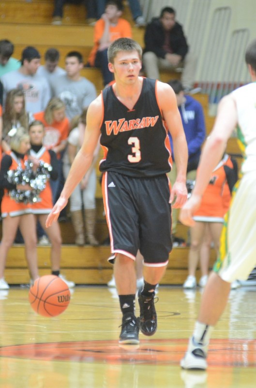 Warsaw senior star Jared Bloom will lead the Tigers into regional action Saturday at Michigan City (Photo by Scott Davidson)