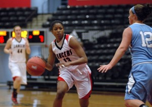 Star guard Juaneice Jackson will be a key player for Grace College in the NCCAA National Championships starting Wednesday at Grace (Photo provided by Grace College Sports Information Department)