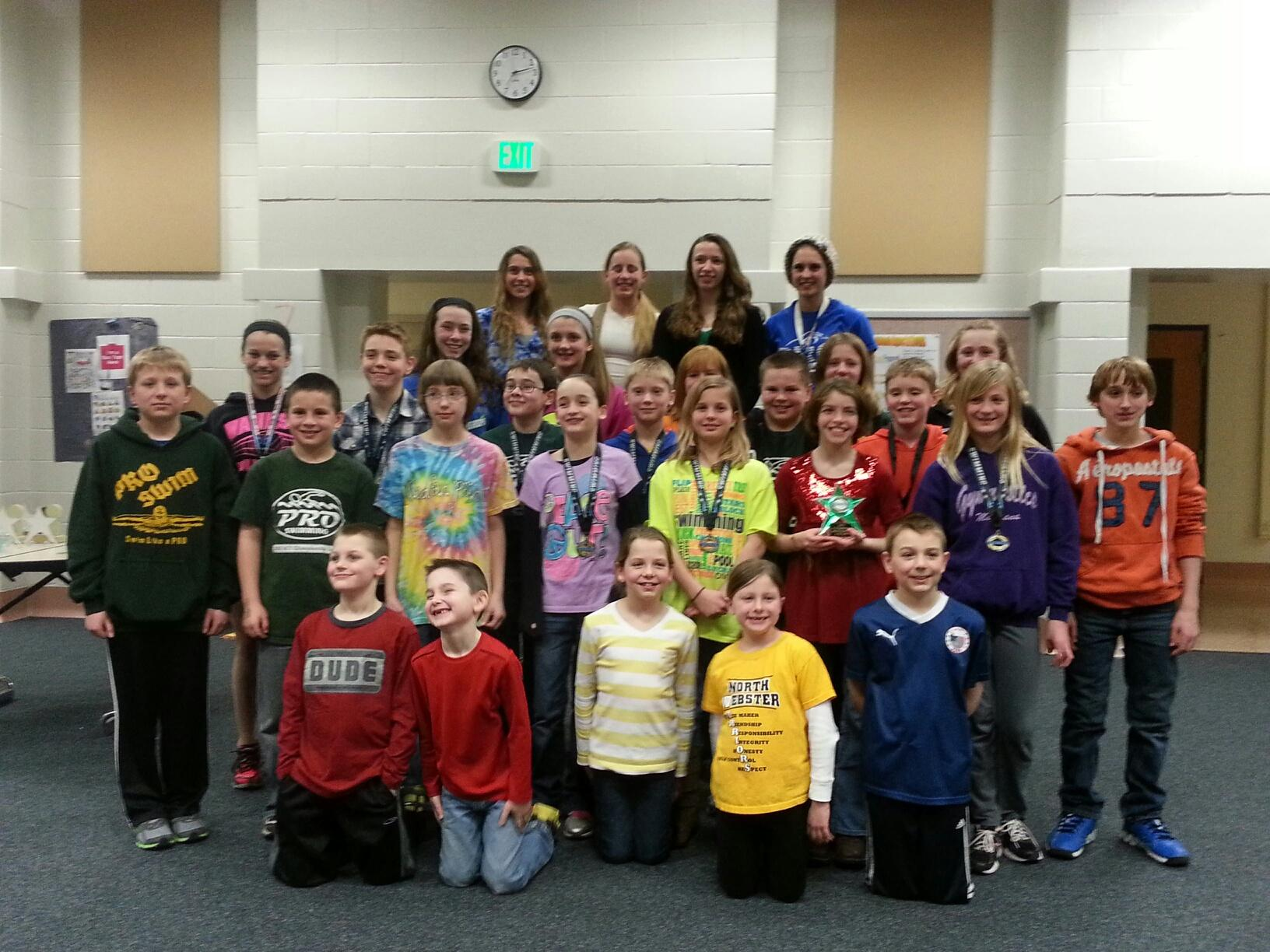 The PRO Swim Club, comprised of Wawasee area swimmers, announced its season awards Tuesday night. (Photo provided)