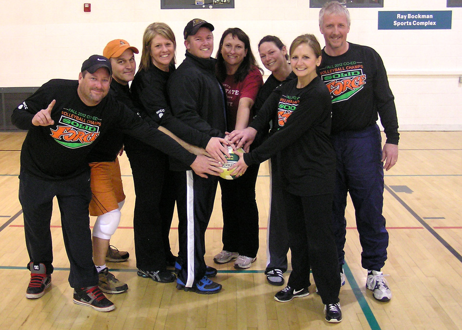 The Solid Force indoor volleyball team repeated as North Webster Volleyball League champions. (Photo provided)
