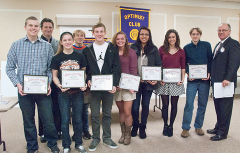 Warsaw Community High School Students of the Week