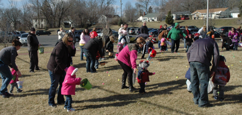 Syracuse egg hunt