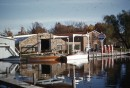 Main Channel Marina (?) Syracuse, IN. Taken by Viola Welty. Year unknown.