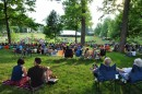 Thousands watching the Patriotic Pops Concert of the 2012 MasterWorks Festival in Winona Lake.