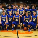 The Triton Trojans won its sixth consecutive sectional title by beating Michigan City Marquette 47-46 Saturday night. (Photos by Mike Deak)